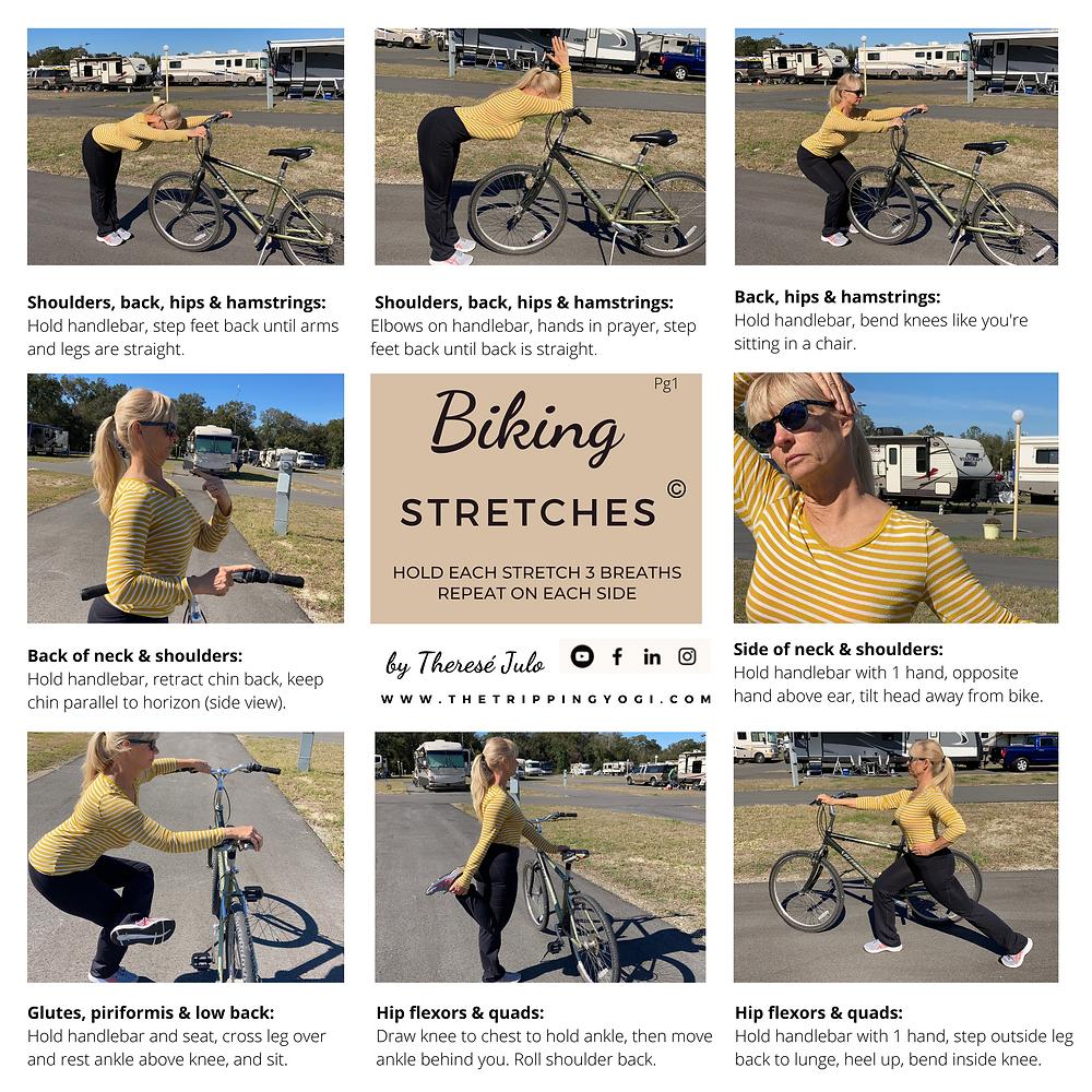 RV Yoga: 16 biking and yoga stretches
