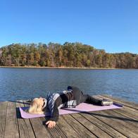 Outdoor Yoga: Docks