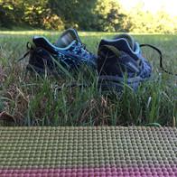 Outdoor Yoga: Grass