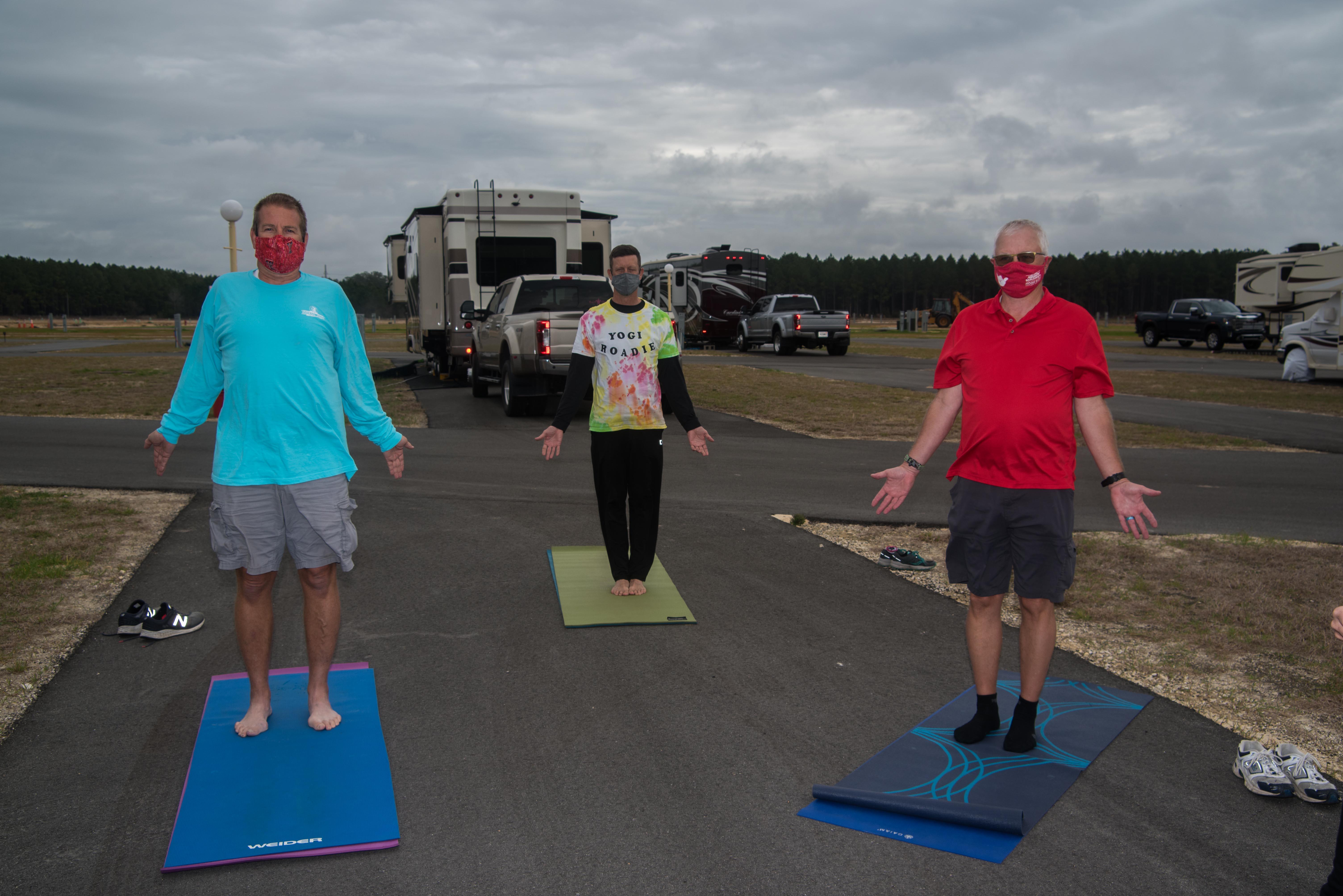 60 Minute Mat Yoga Class