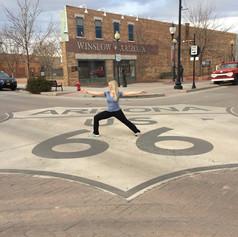RV Yoga: Yoga in Winslow AZ