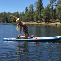 Outdoor Yoga: Paddleboard Yoga