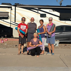 RV Yoga: Campground Yoga Class