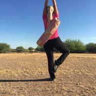 Outdoor Yoga: Desert