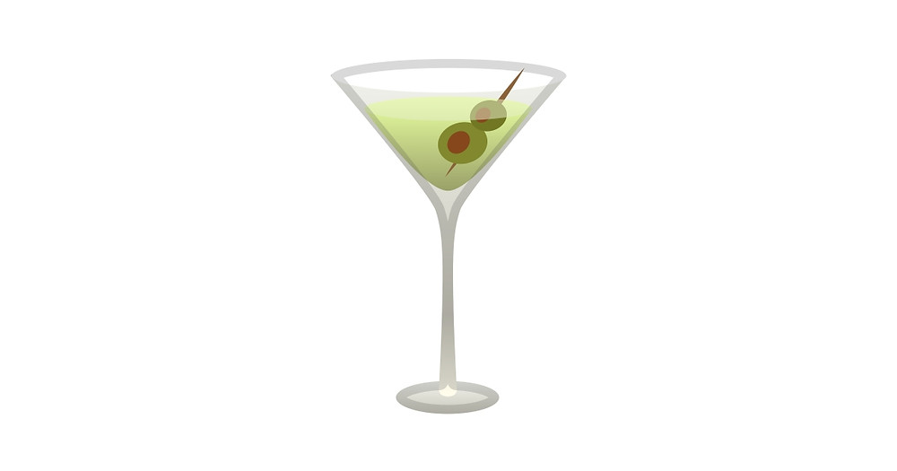 Photo of a martini cocktail