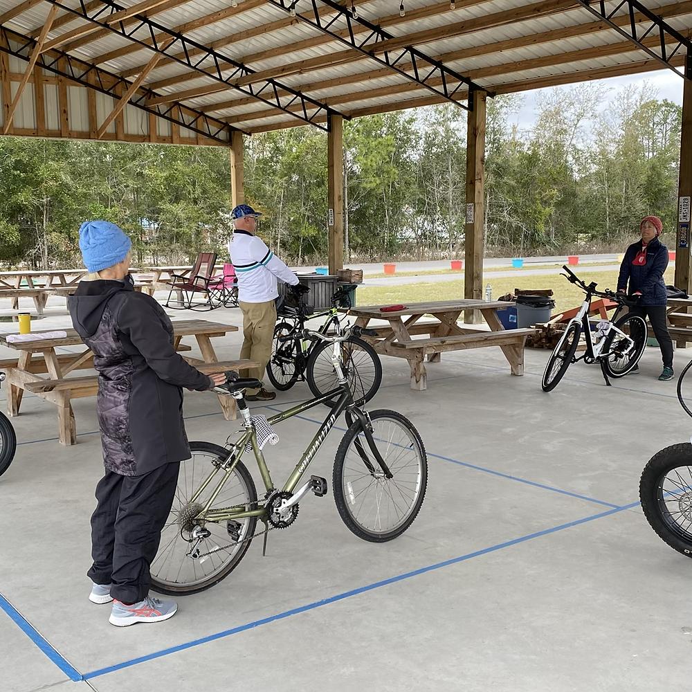 Biking and Yoga Workshop: Back Stretch