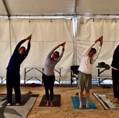 RV Yoga Retreat: Men's Yoga Class