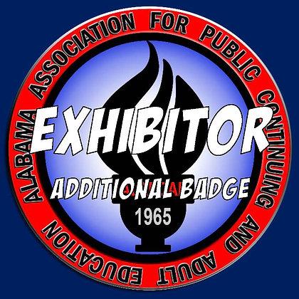 Exhibitor - Additional Badge