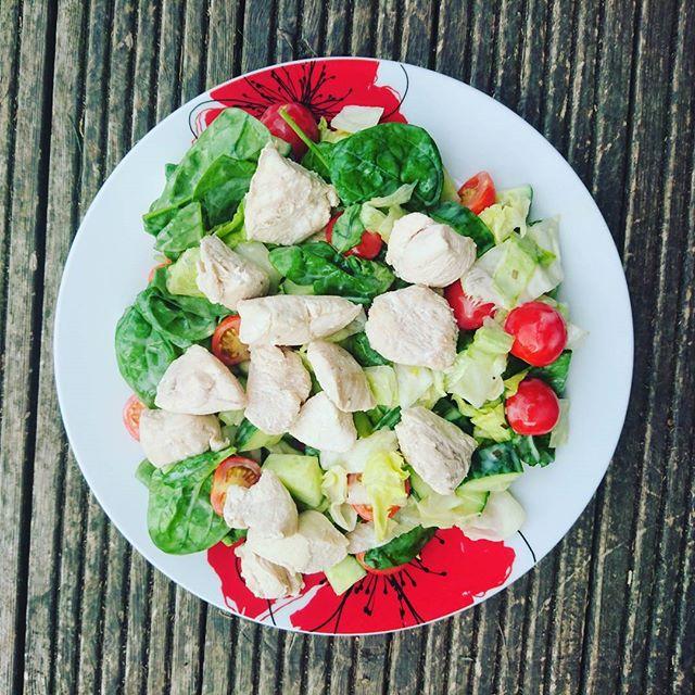 TODAYS DINNER_ healthy chicken caesar sa