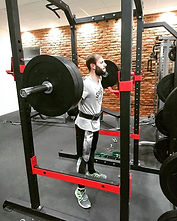 A picture from my 100kg squats the other