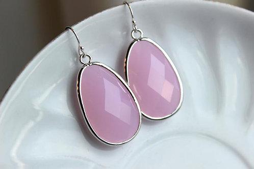 laalee Pink Opal Earrings