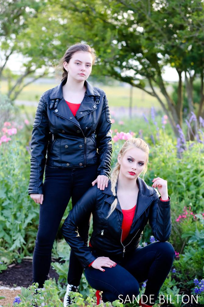 Styled Modeling Session | Serena & Sadie