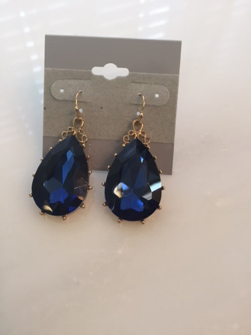Kate Sapphire Blue Earrings