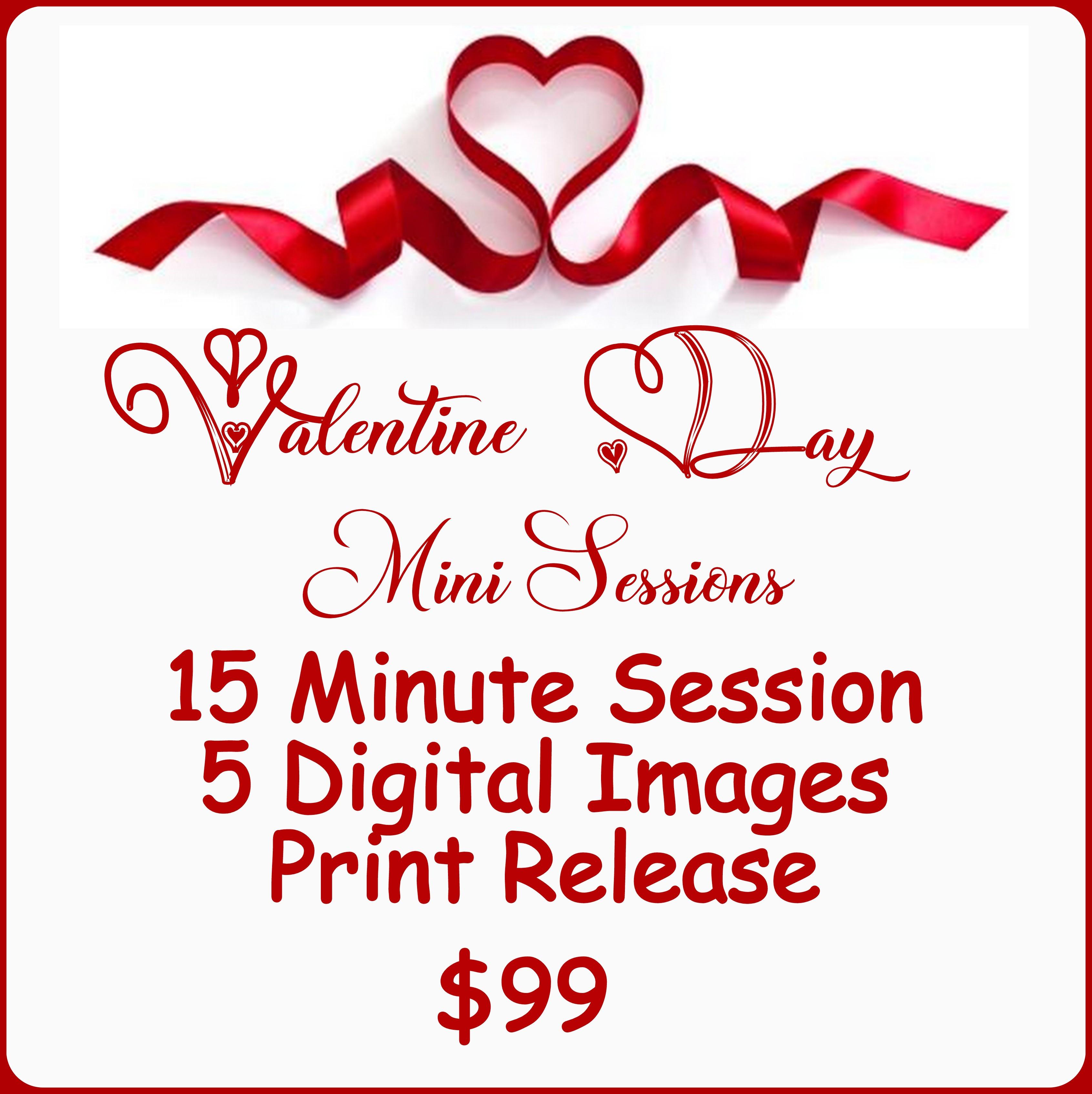 Valentine Day Mini Sessions