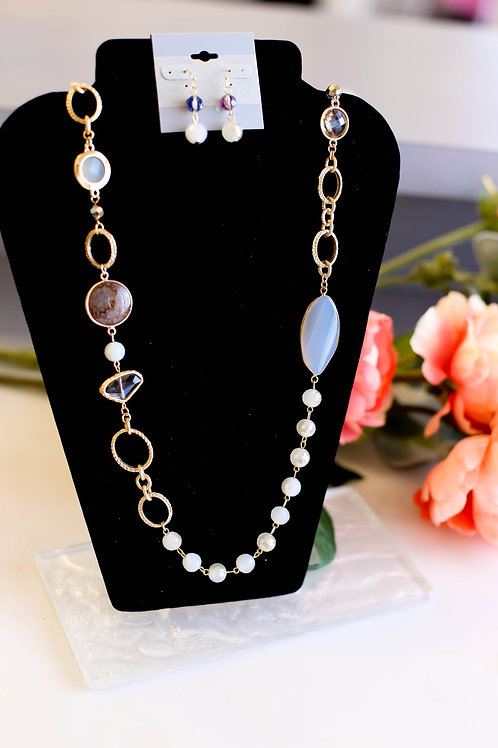Giselle Statement Necklace & Earring Set