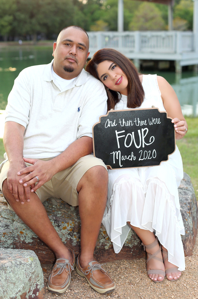 BABY ANNOUNCEMENT | TONY & DESIREE