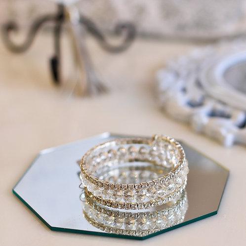 Dezi Crystal Wrap Bracelet