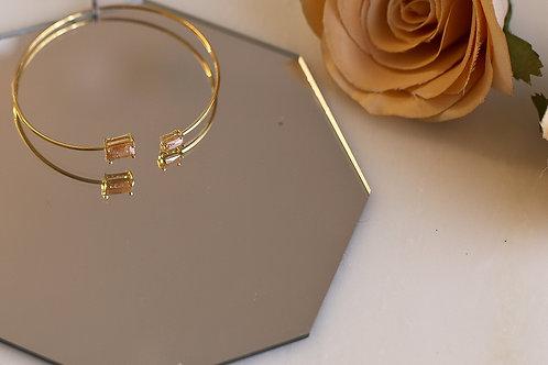 Emma Topaz Cuff Bracelet