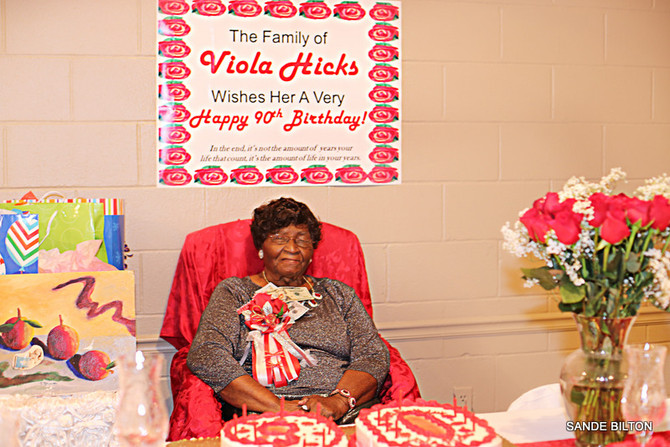 Viola Hicks 90th Birthday Celebration
