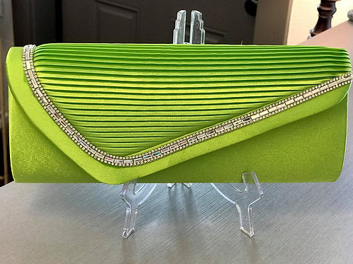 Green Apple Clutch Bag