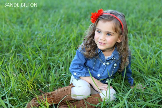 Precious child photo shoot