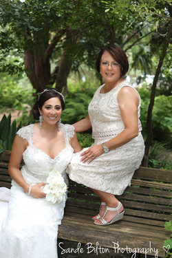 Bridal Photo Shoot with Mother