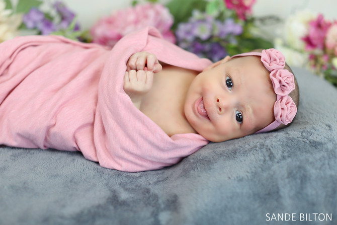 NEWBORN SESSION | BABY ROSE