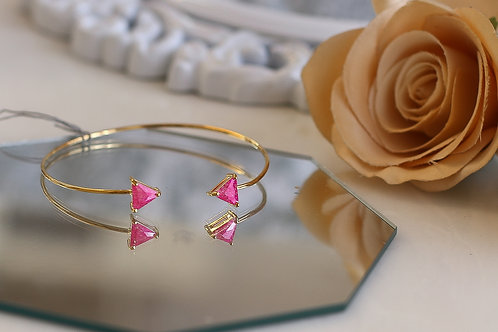 Pixie Pink Cuff Bracelet