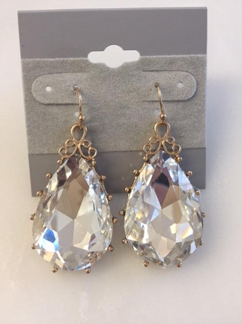 Tessa Crystal Rhinestone Earrings