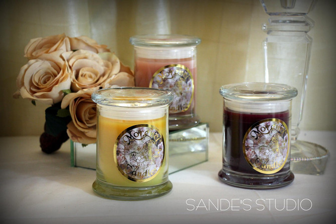 Sande's Studio now selling Morenci Candles!