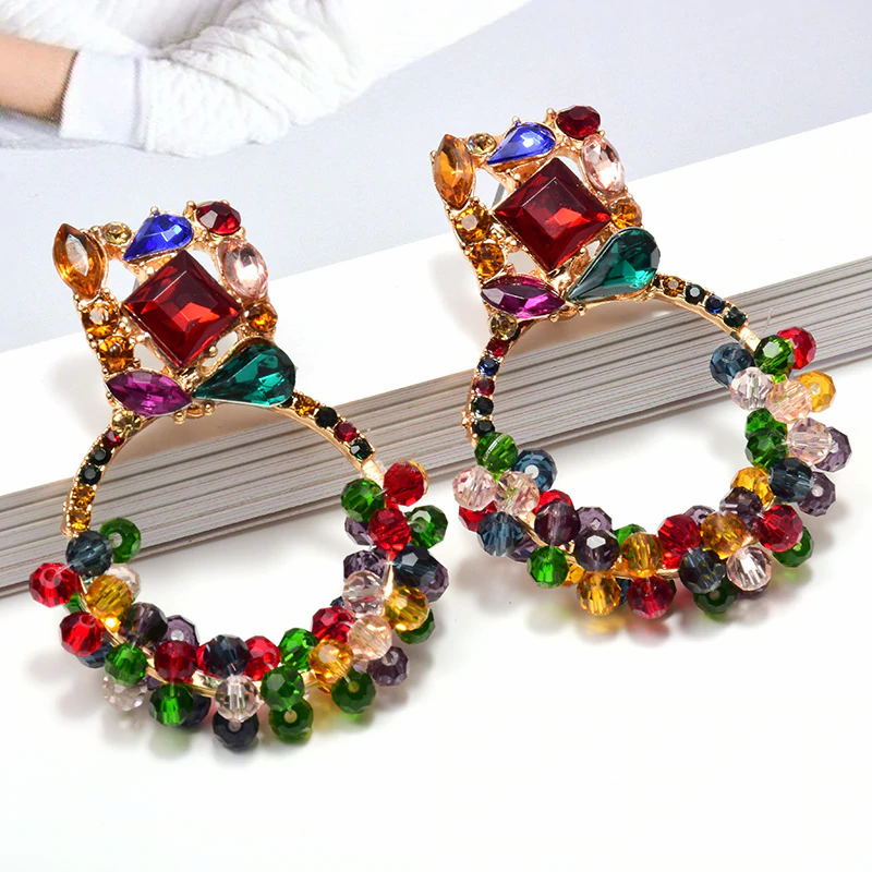 Multi Color Hoops