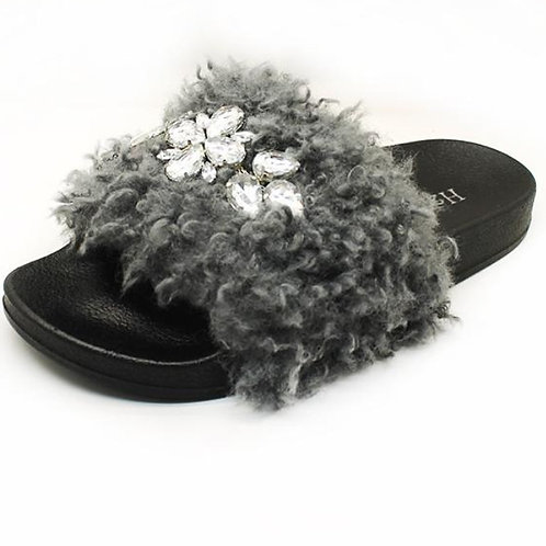Fluffy Fur Slides