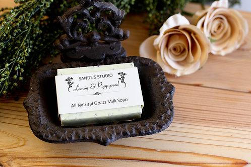 Lemon & Poppyseed Soap