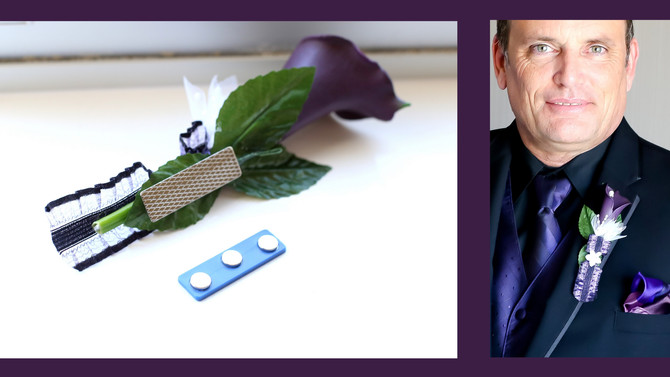 Wedding Chat with Sande | Boutonniere Magnets!