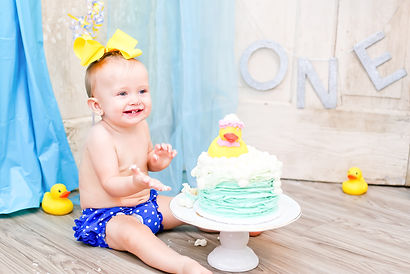 Victoria, Texas Cake Smash Photography
