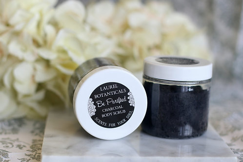 Be Purified - LAUREL BOTANICALS Charcoal Body Scrub