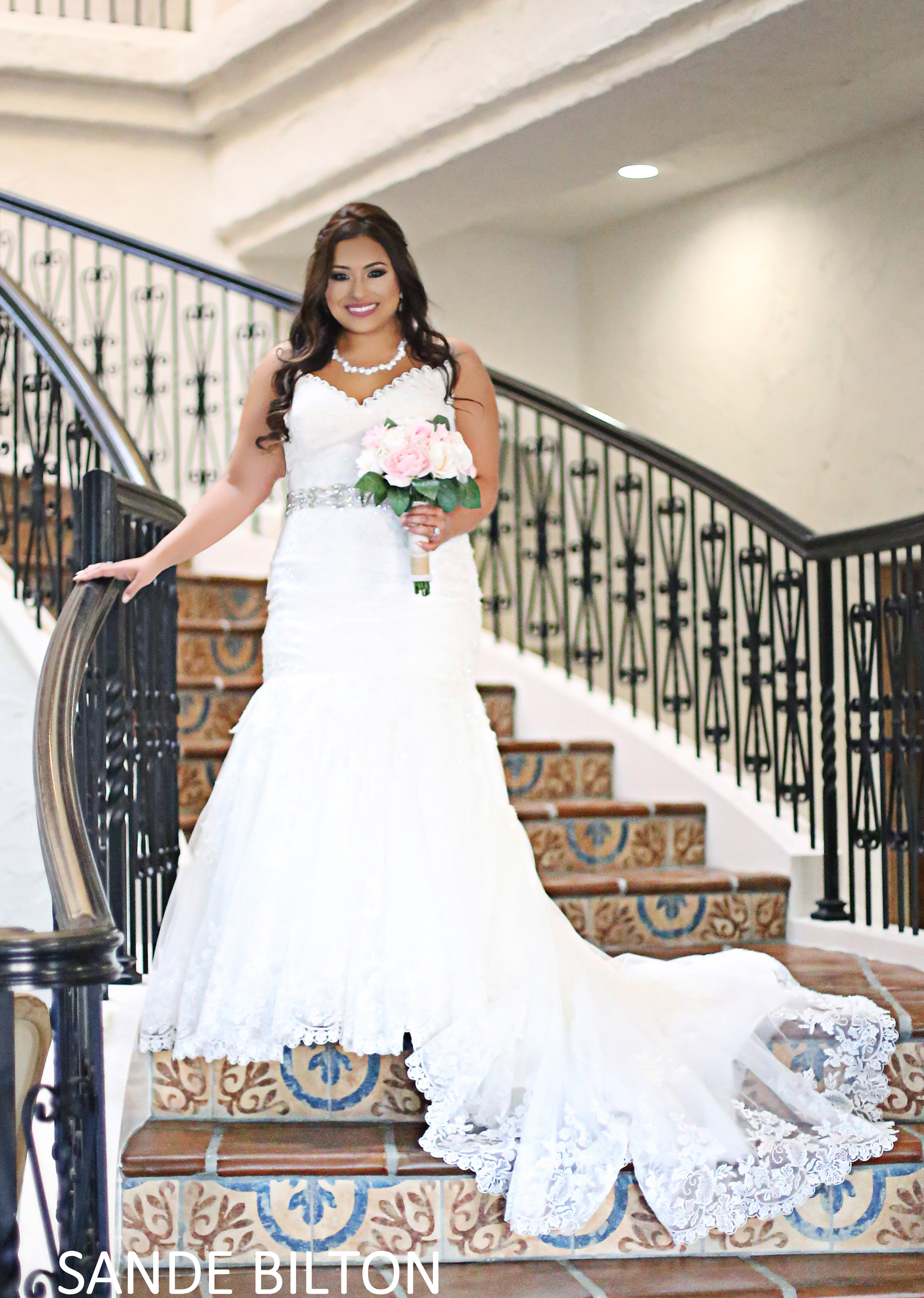 Villa Antonia Bridal Photo Shoot
