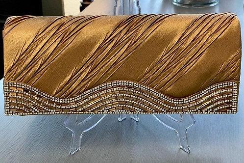 Gold Blingy Clutch Bag