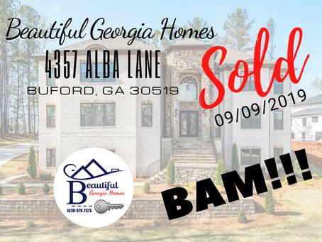 SOLD (09/09/2019): 4357 ALBA LANE, Buford, Ga 30519