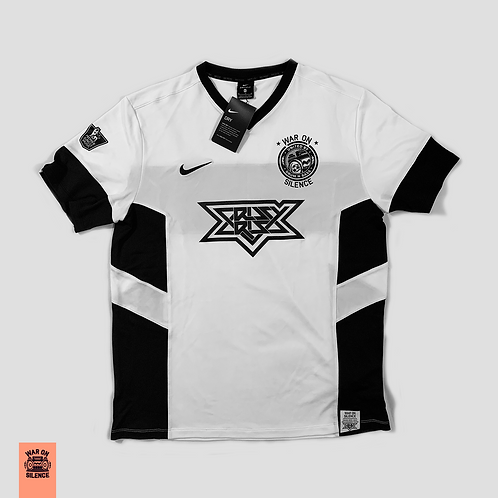 Nike X War On Silence White OS Football Jersey