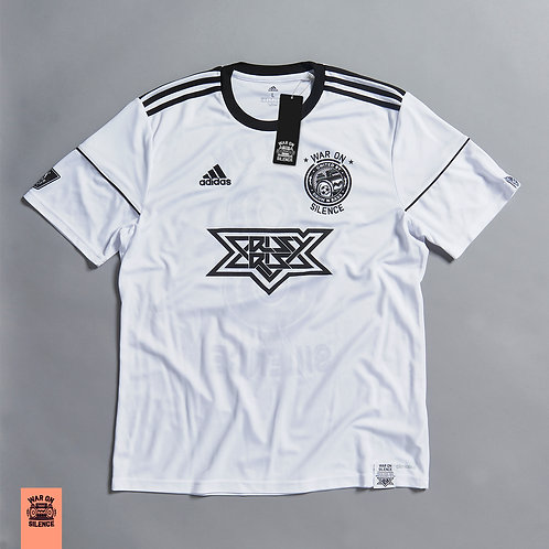 Adidas X War On Silence White Football Jersey