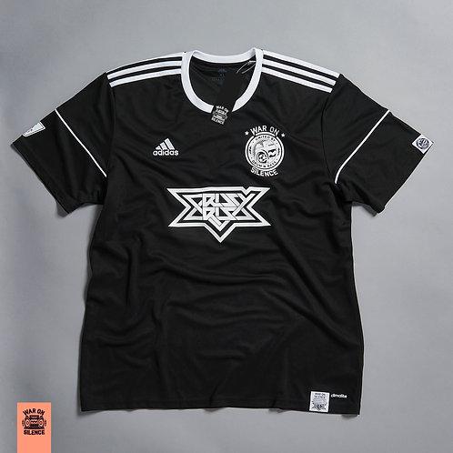 Adidas X War On Silence Black Football Jersey
