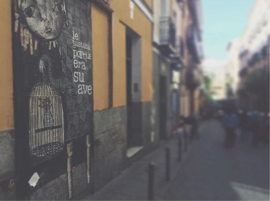 streetart madrid malasaña