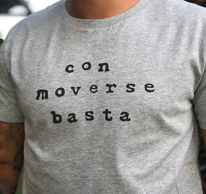 Camiseta chico con moverse