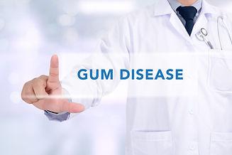 GUM DISEASE CONCEPT Medicine doctor work
