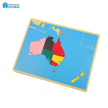 Puzzle Map of Australia