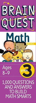 Brain Quest: Grade 3 Math
