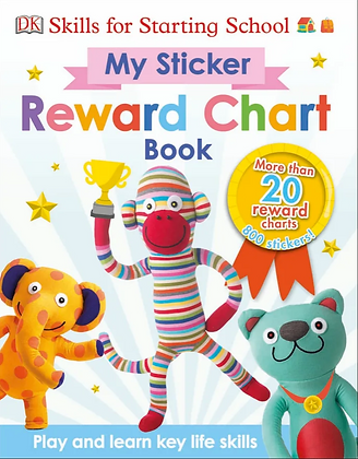 My Sticker Reward Chart Book