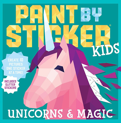 Paint by Stickers: Unicorns & Magic
