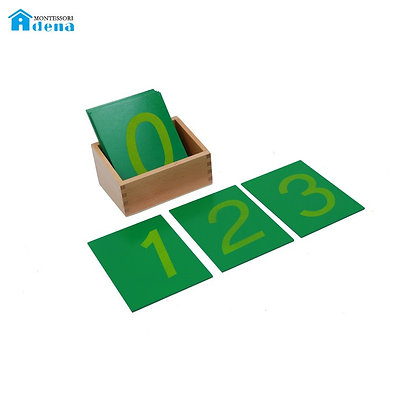 Sandpaper Numbers With Box- 1